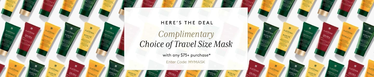 Complimentary Travel Size Mask With 75 Purchase