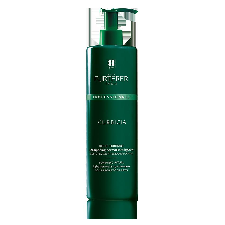Rene Furterer CURBICIA normalizing lightness shampoo 20.2 fl. oz